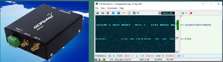 CW Skimmer et SDRPlay